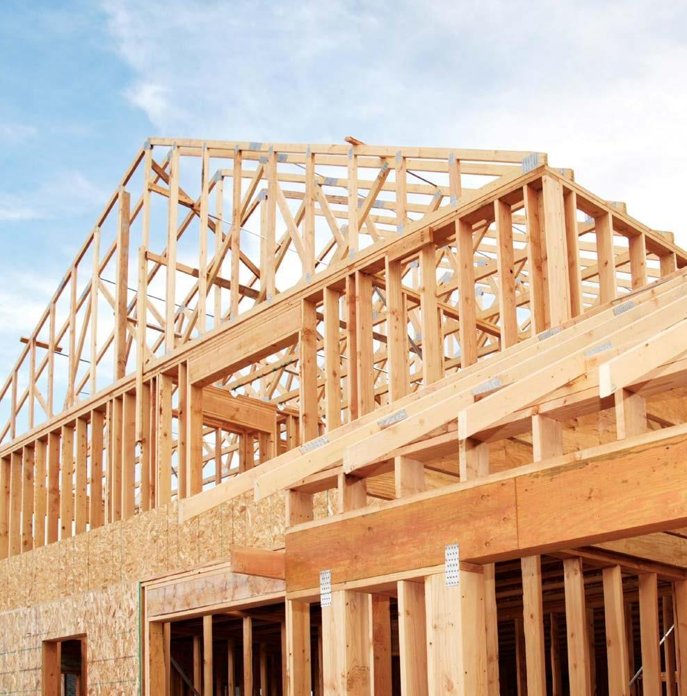 construction law - Wood Frame House